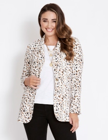 Katies Long Line Relaxed Blazer