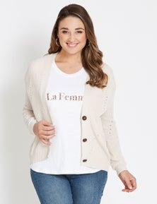 Katies Cable Cardigan