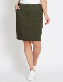 Katies D Ring Drill Skirt