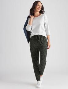 Katies Full Length Knit Jogger