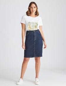 Katies Denim Skirt
