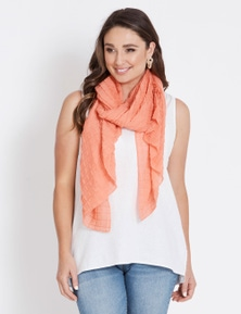 SQUARE TXTED SCARF