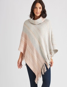Katies Roll Neck Poncho