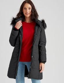 Katies Longline Puffer Jacket