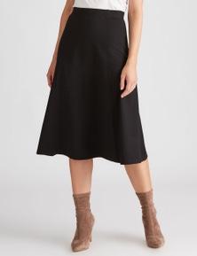 Katies A Line Ponte Skirt