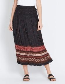 Katies Waisted Midi Skirt