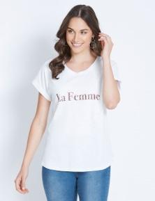 SS LA FEMME TEE