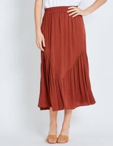 Katies Pleated Yoke Skirt