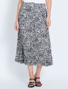 Katies Midi Pleated Skirt