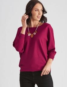 Katies Knit Dolman Sleeve Jumper