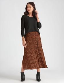 Katies Sunray Pleat Skirt