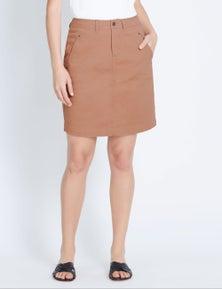 Katies Casual Canvas Skirt