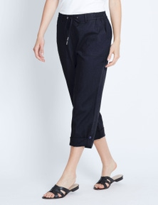 TURN UP LINEN PANT