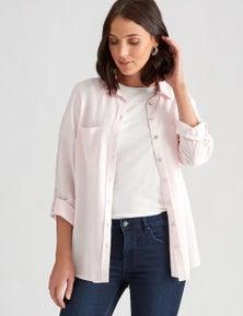 Katies Linen Button Through Shirt