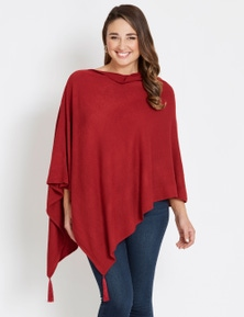 Katies Knit Poncho