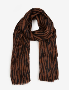 ANMAL CLRBLK SCARF