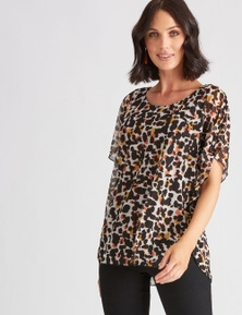 Katies Knit Kaftan Top