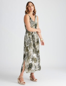Katies Woven Belted Dress