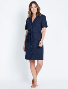 Katies Linen Shirt Dress