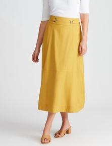 Katies Linen Midi Skirt