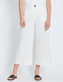 Katies Linen Crop Pant