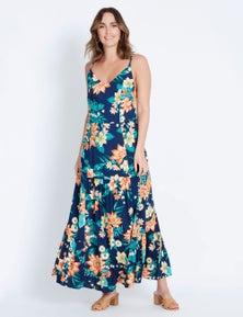 Katies Woven Tiered Dress