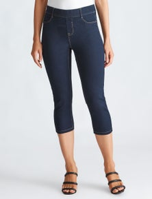 Katies Crop Pull On Jegging