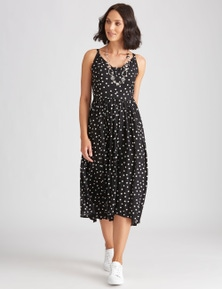 Katies Woven Hanky Hem Dress