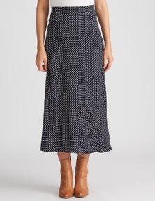 Katies Woven Flounce Skirt
