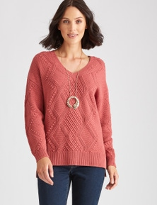Katies Knit Cable Jumper