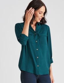Katies Woven Pocket Shirt