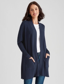 Katies Knit Longline Cardigan