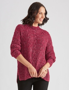 Katies Knit Chunky Cable Jumper