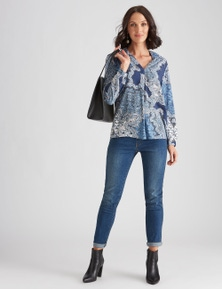 PLACKET FRONT TOP