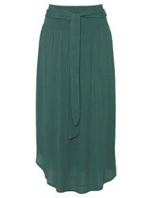 Katies Curved Hem Maxi Skirt