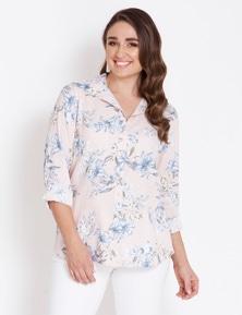Katies Long Sleeve Linen Shirt