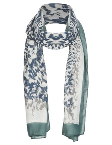 ABSTRACT BRDER SCARF