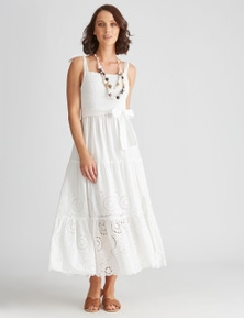 Katies Cotton Tiered Dress