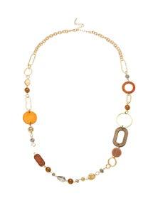 Katies Earthy Tones Rope Necklace