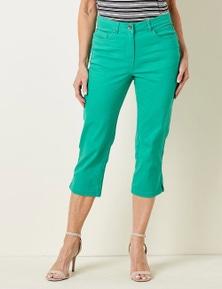 Millers Crop 5 Pocket Denim Jeans
