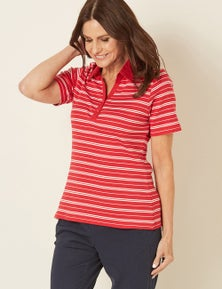 Millers Short Sleeve Polo Top
