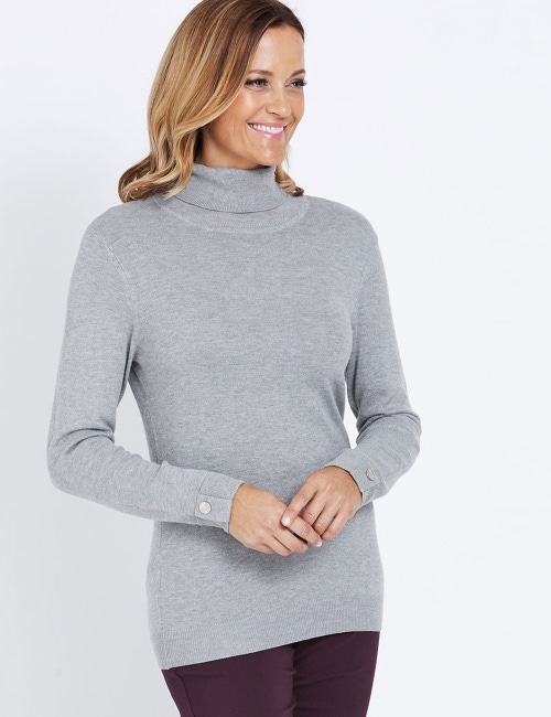 1fbfe23ba29 Millers Long Sleeve Roll Neck Jumper
