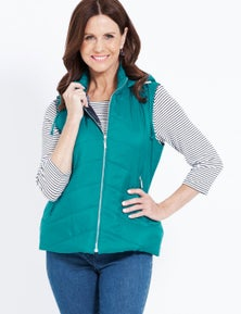 Millers Hooded Quilted Puffer Vest