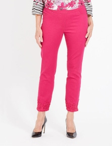Millers 7/8 Comfort Lace Hem Jean