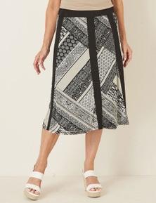 Millers Colour Block Mesh Skirt