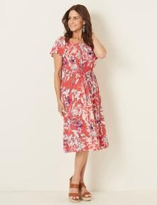 Millers Off Shoulder High Low Dress