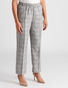 Millers Short Length Check Essential Pant