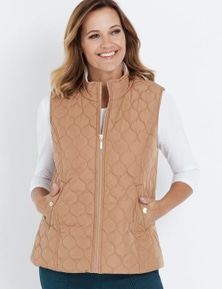 Millers Sleeveless Panel Quilted Puffer Vest
