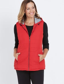 Millers Jersey Lined Puffer Vest