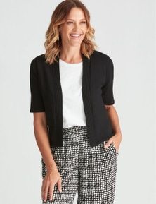 Millers Elbow Sleeve Crop Cardigan
